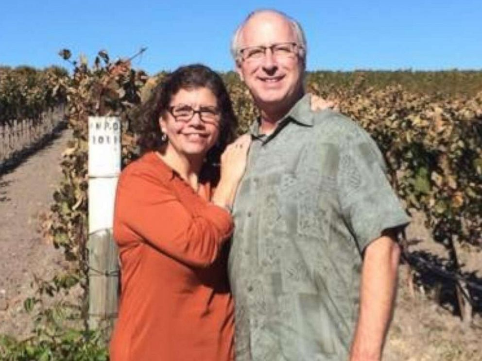 PHOTO: Sandy Cossid Lertzman and Eric Lertzman in a photo posted to social media.