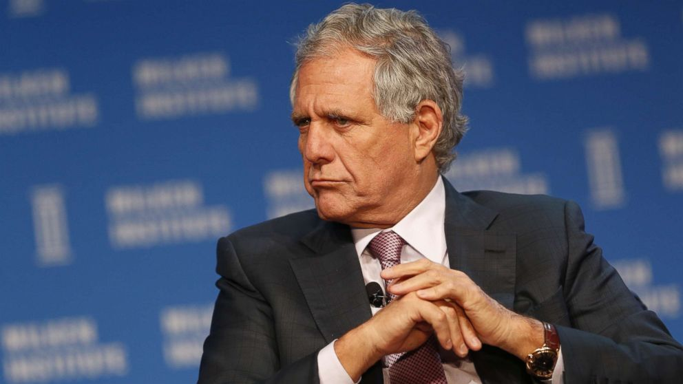 "Leslie ""Les"" Moonves listens during the annual Milken Institute Global Conference in Beverly Hills, Calif., May 4, 2016."