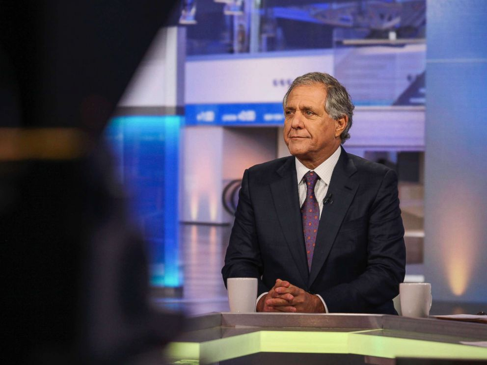 Les Moonves isn't hiding amid sexual harassment allegations