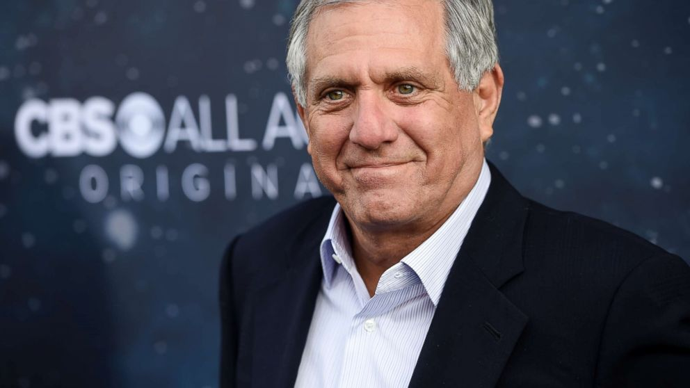 """Les Moonves, chairman and CEO of CBS Corporation, poses at the premiere of the new television series """"Star Trek: Discovery"""" in Los Angeles, Sept. 19, 2017."""