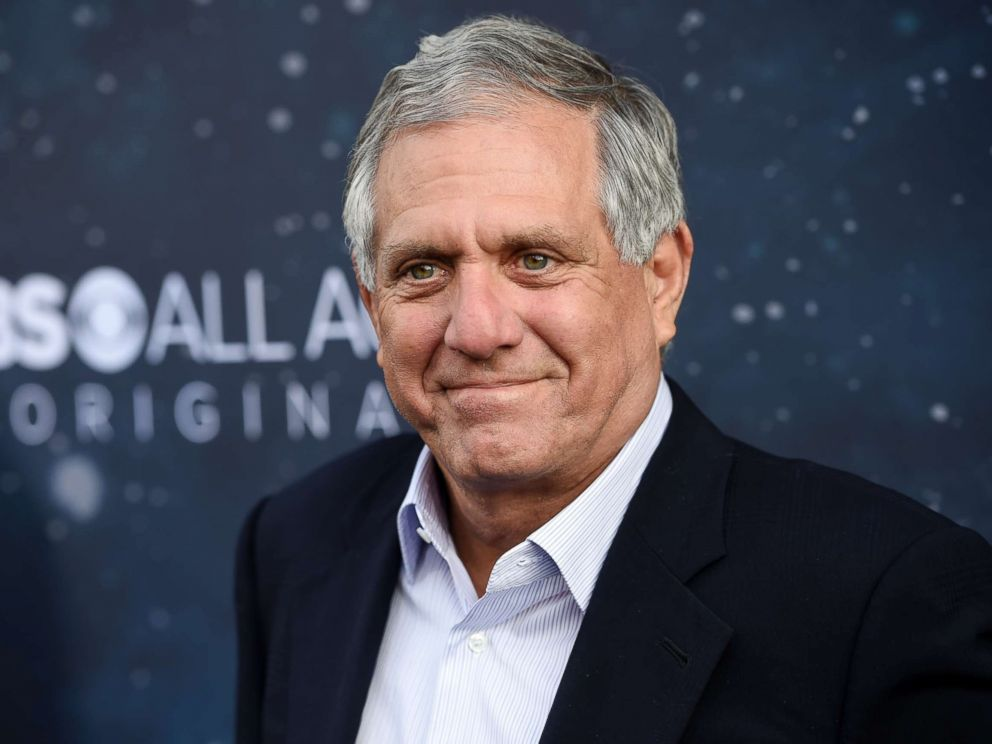 PHOTO: Les Moonves, chairman and CEO of CBS Corporation, poses at the premiere of the new television series Star Trek: Discovery in Los Angeles, Sept. 19, 2017.