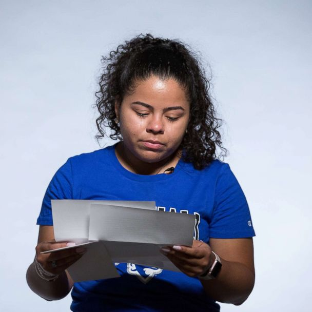 We surprised first-generation college students with touching letters