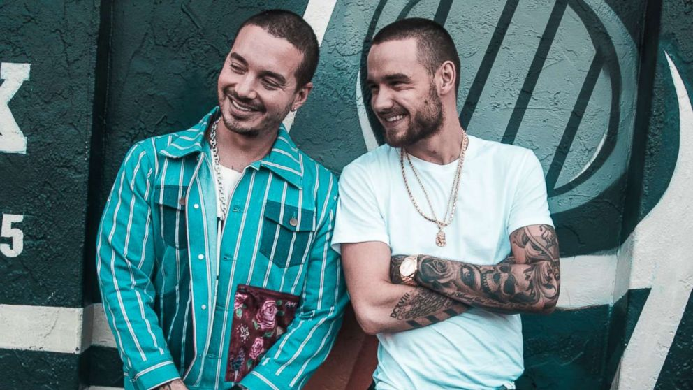 Liam Payne and J Balvin kick off our party in the park - GMA's Summer Concert Series!