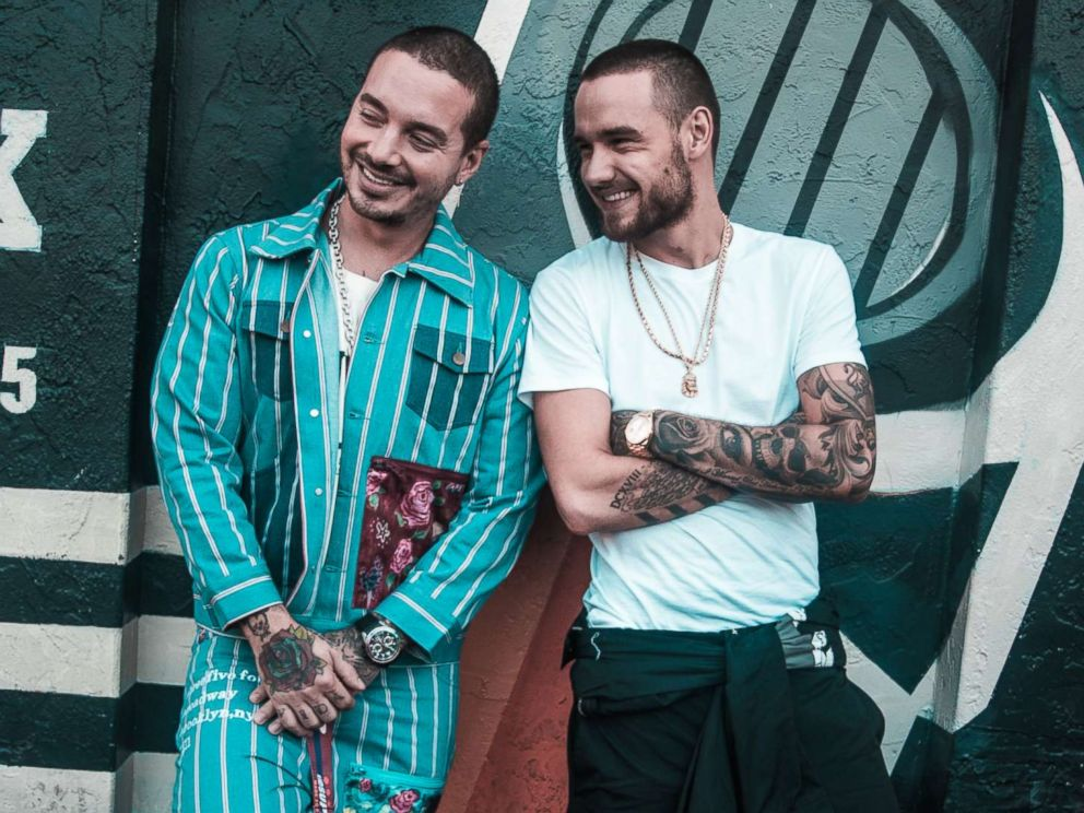 PHOTO: Liam Payne and J Balvin kick off our party in the park - GMAs Summer Concert Series!