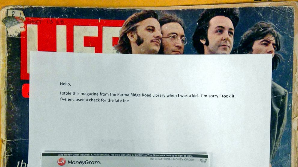 Beatles fan sends 1968 Life magazine back to public library he stole