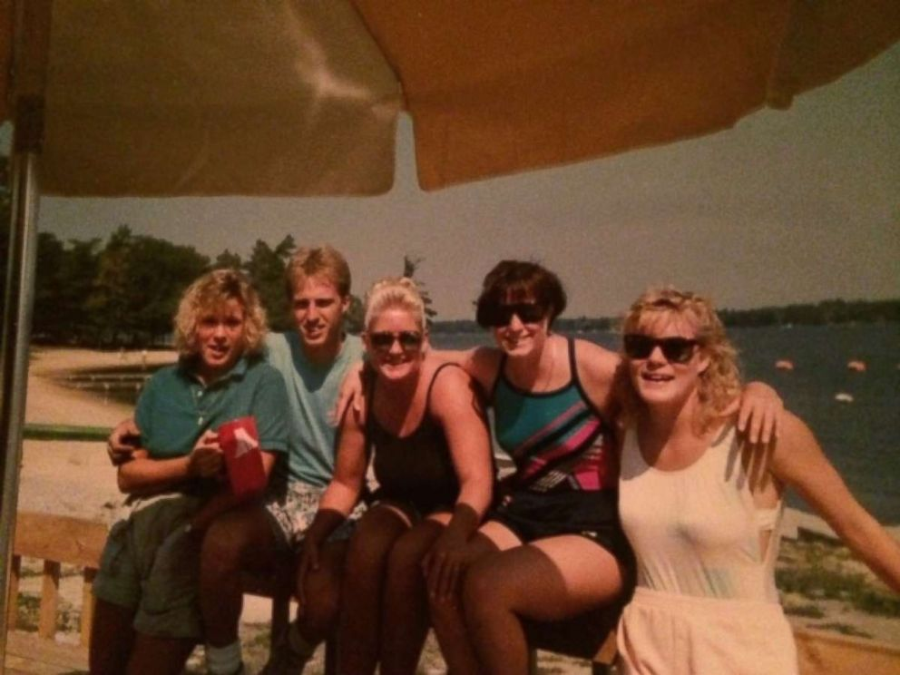 Cathy Wusterbarth grew up around Van Etten Lake and worked as a lifeguard, as shown in this photo from August 1988.
