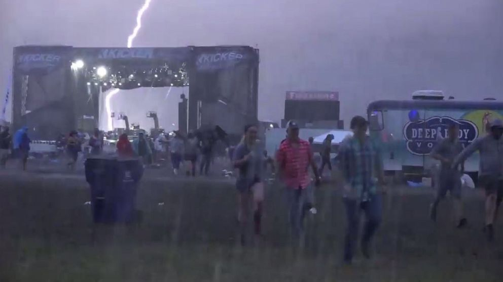 Severe Thunderstorms Expected From Texas To Missouri