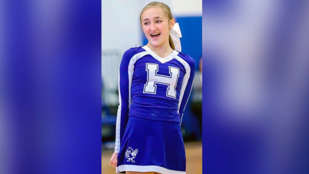 Lilliana Schalck, 13, died suddenly on Feb. 23, 2019.