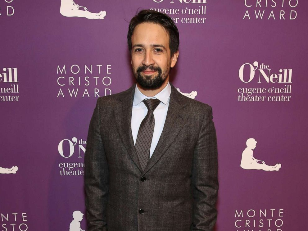 PHOTO: Lin-Manuel Miranda attends The Eugene ONeill Theater Centers 18th Annual Monte Cristo Award Honoring Lin-Manuel Miranda at Edison Ballroom, April 30, 2018, in New York City.