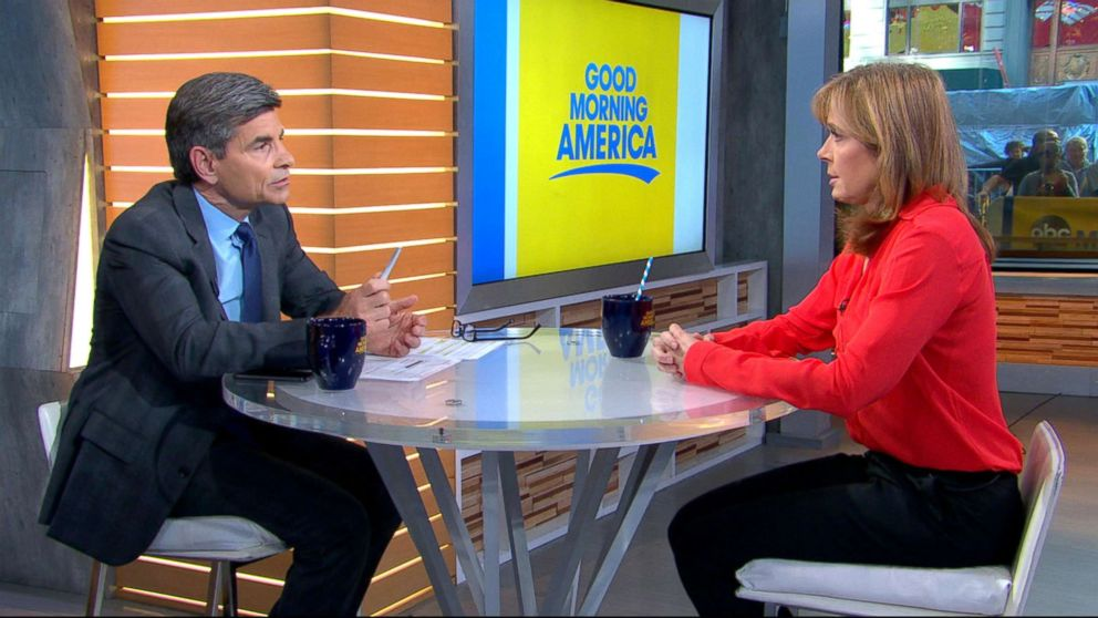 PHOTO: Linda Vester, a former NBC reporter who accused Tom Brokaw of sexual misconduct speaks out in an interview with ABC News chief anchor George Stephanopoulos.