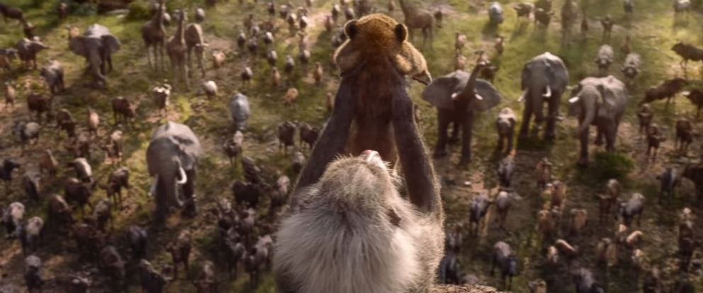 """PHOTO: Disney released a teaser trailer for the 2019 remake of, """"The Lion King."""""""