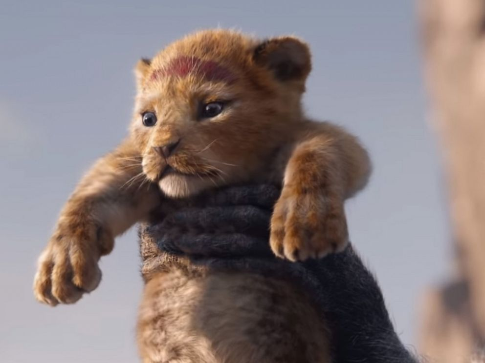 PHOTO: Simba appears in a teaser trailer for the 2019 remake of, The Lion King.