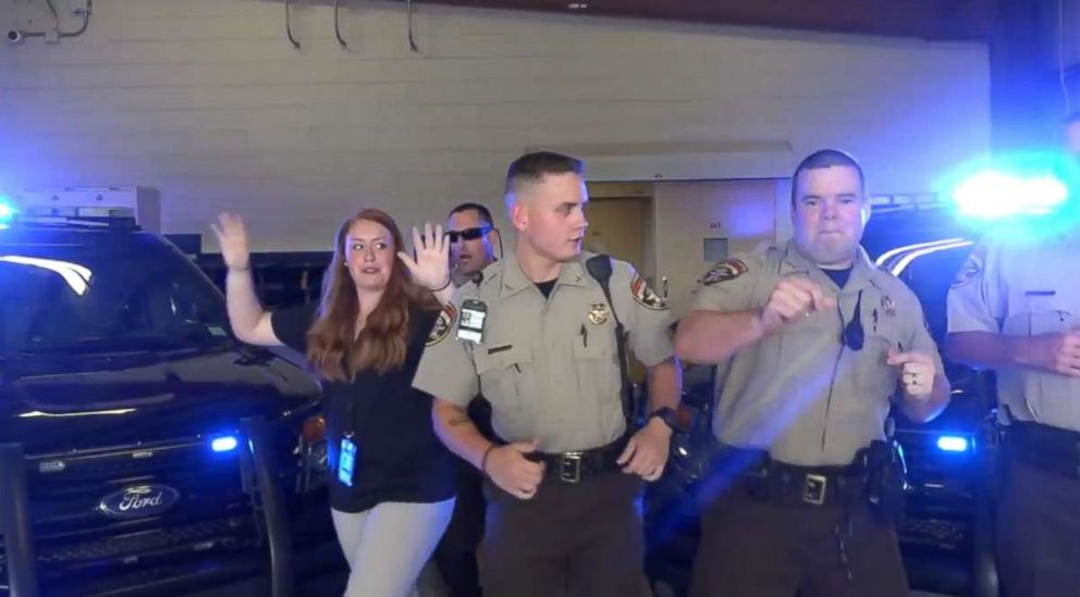 PHOTO: The Pickens County Sheriffs Office did a lip sync challenge video with a warning about domestic violence.