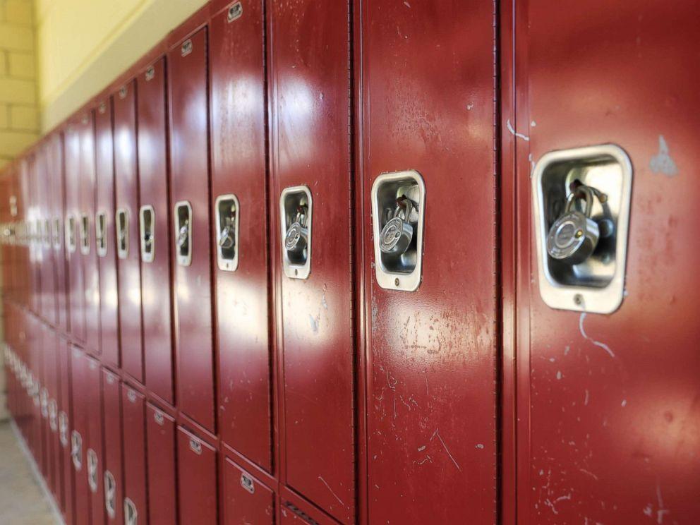 PHOTO: An undated stock photos of lockers.
