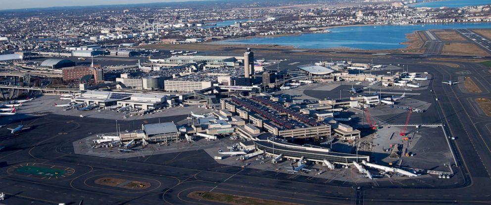 PHOTO: Aerial view of Boston Logan International Airport in Boston, Mass., on Dec. 6, 2012.