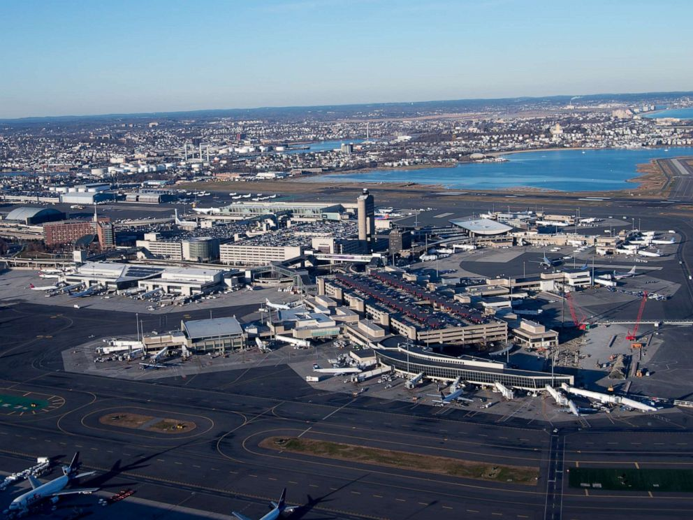 PHOTO: Aerial view of Boston Logan International Airport in Boston, Mass., on Dec. 6, 2012.