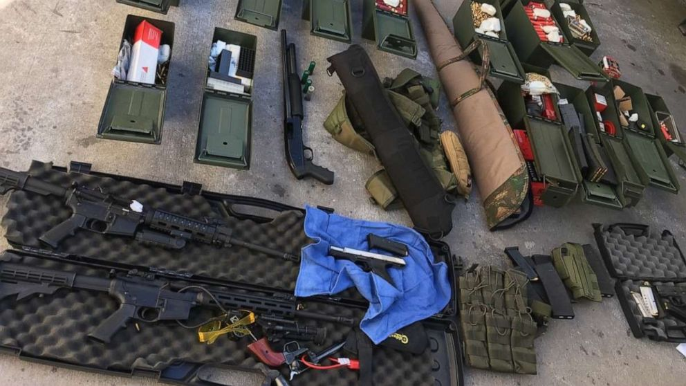 Guns, ammo, tactical gear seized from home of cook who threatened shooting at hotel thumbnail