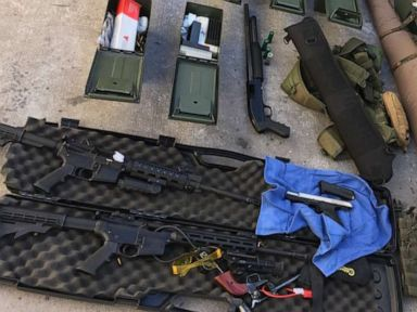 Guns, ammo, tactical gear seized from home of cook who threatened shooting at hotel