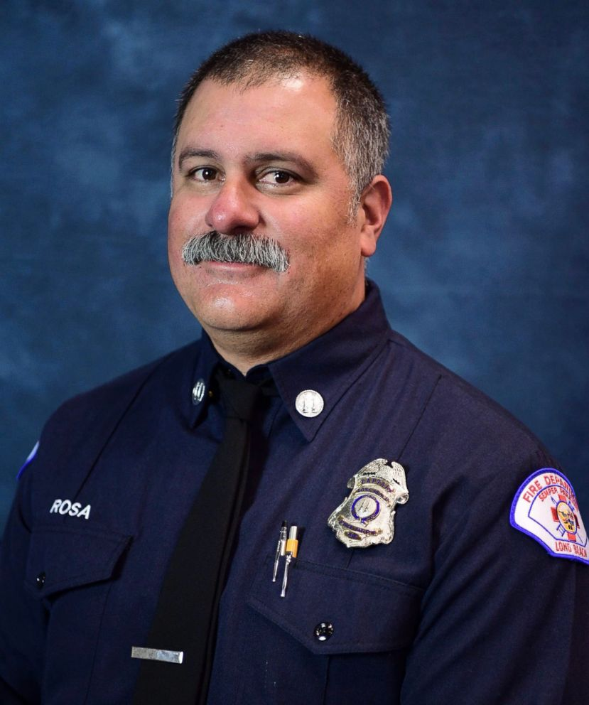 Captain David Rosa, a Long Beach, California firefighter, died from injuries sustained from a gunshot wound on June 25, 2018.