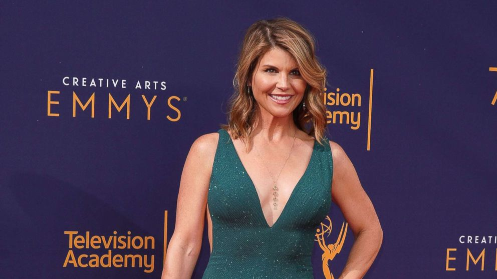 Lori Loughlin attends the 2018 Creative Arts Emmy Awards at Microsoft Theater, Sept. 8, 2018, in Los Angeles.