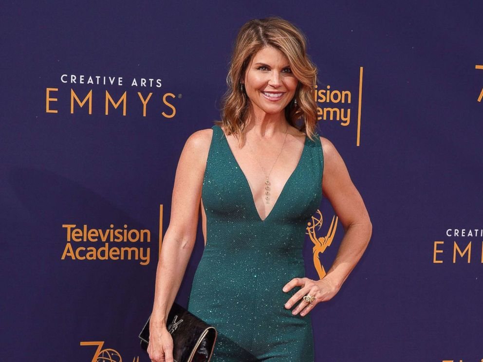 PHOTO: Lori Loughlin attends the 2018 Creative Arts Emmy Awards at Microsoft Theater, Sept. 8, 2018, in Los Angeles.