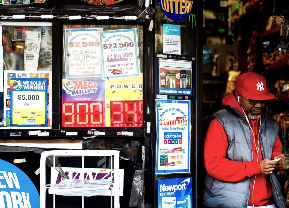 Numbers drawn for $470 million Powerball jackpot