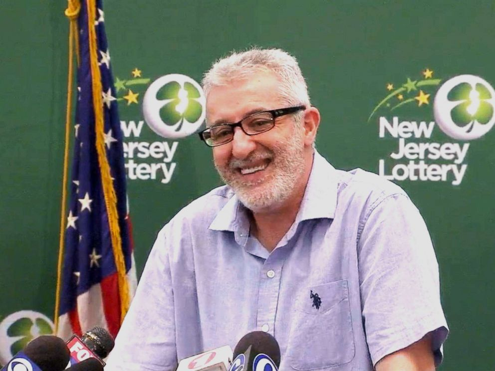 PHOTO: Tayeb Souami of Little Ferry, N.J., came forward as the winner of the $315.3 million lottery drawing from May 19, 2018.
