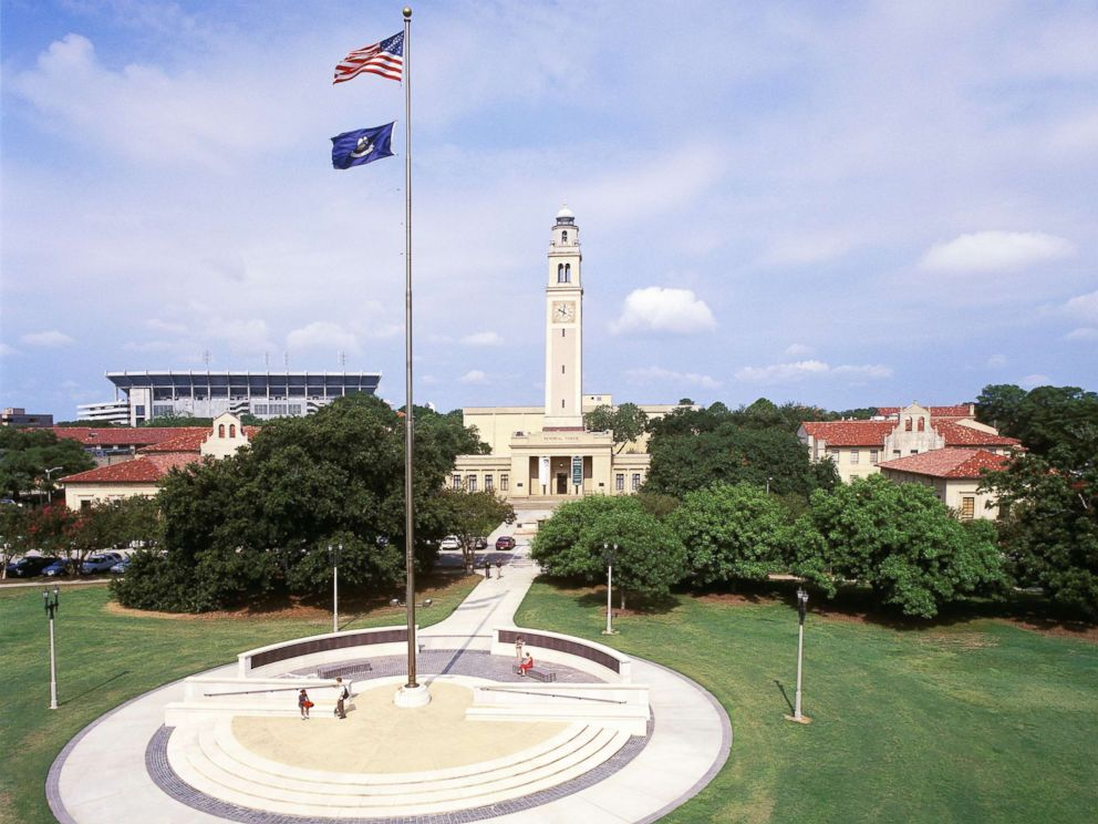 PHOTO: The Memorial Tower in Louisiana State Universitys campus in Baton Rouge, La., is seen in this undated photo.