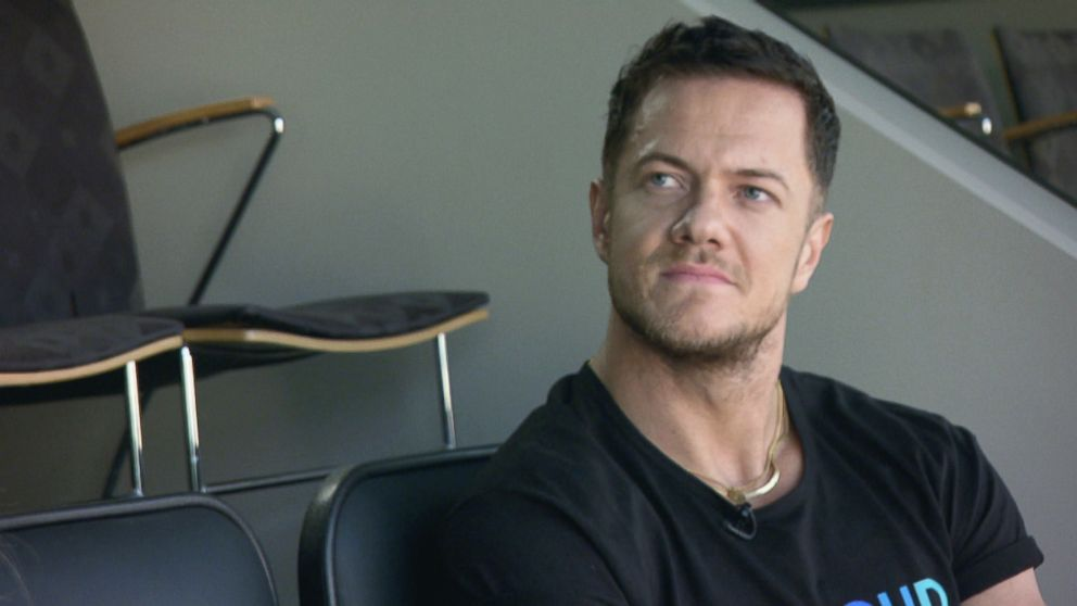 PHOTO: Dan Reynolds is the lead singer of the massively successful rock bank Imagine Dragons.