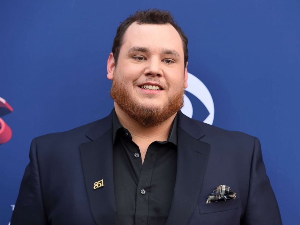 PHOTO: Luke Combs arrives at the 53rd annual Academy of Country Music Awards in Las Vegas, April 15, 2018.