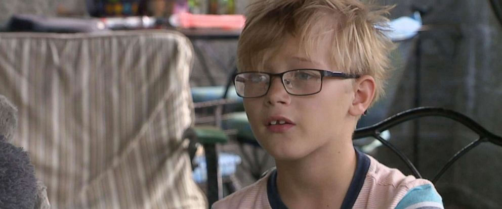 PHOTO: Nine-year-old Jefferson Sharpnack had an incident at his elementary school in Green, Ohio over an $9 lunch debt.