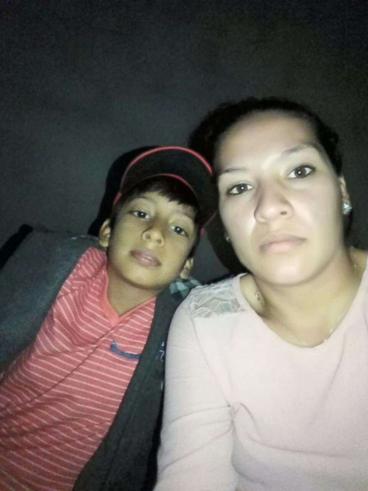 "Delsy Guadalupe Serrano Torres, who goes by ""Lupe,"" and her son Danny, 8, have been separated since the two were apprehended crossing the border in mid-May. Lupe is being held at an ICE detention center in El Paso, Texas, while her son lives with a foster family in New York City."