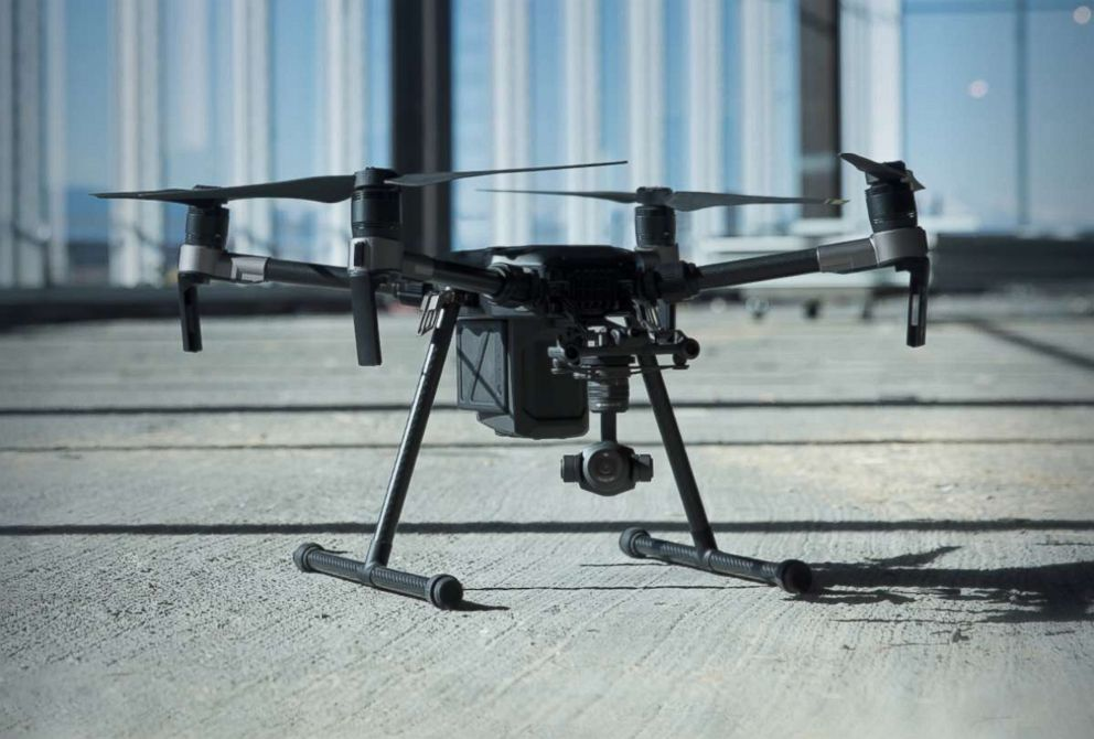 PHOTO: A DJI Technology Inc. M200 series drone is pictured in an undated marketing image.