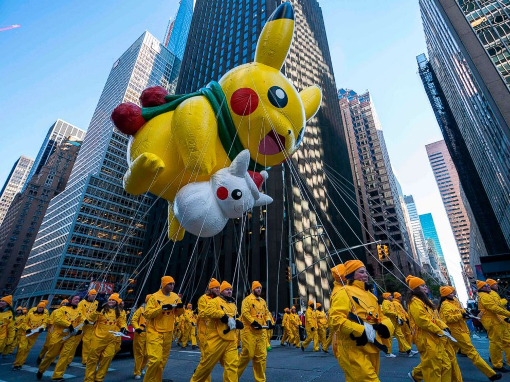 Photos from the 92nd Annual Macys Thanksgiving Day Parade