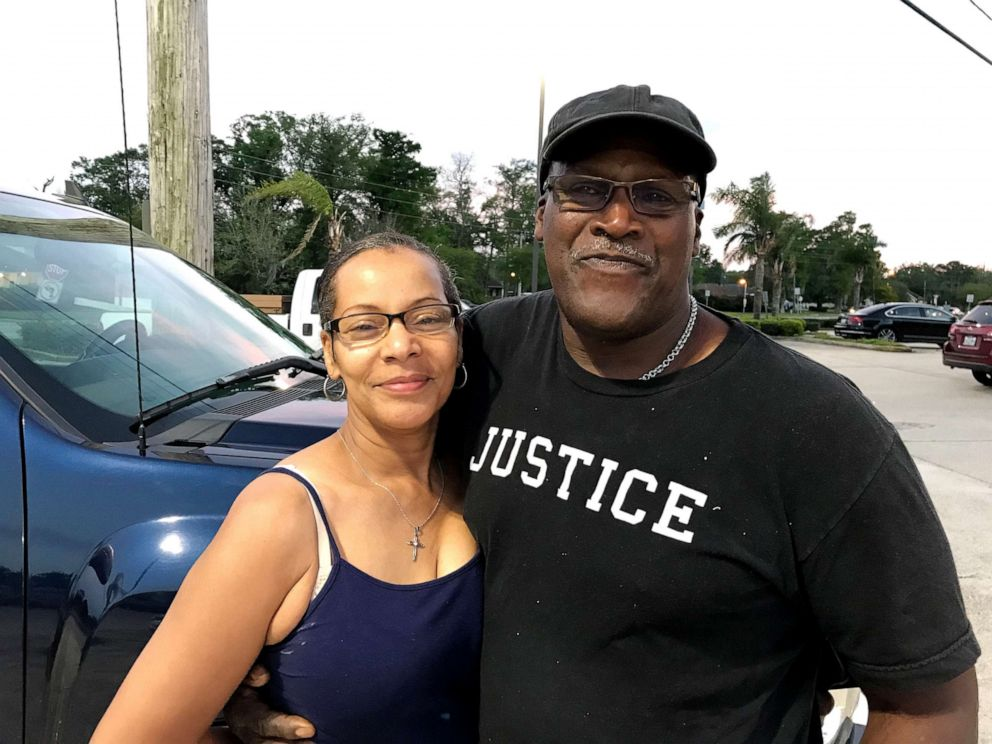 PHOTO: Malcolm Alexander, seen here with his wife Brenda, said that a cross country roadtrip is something he would like to do now that hes been exonerated, but his finances are a concern.