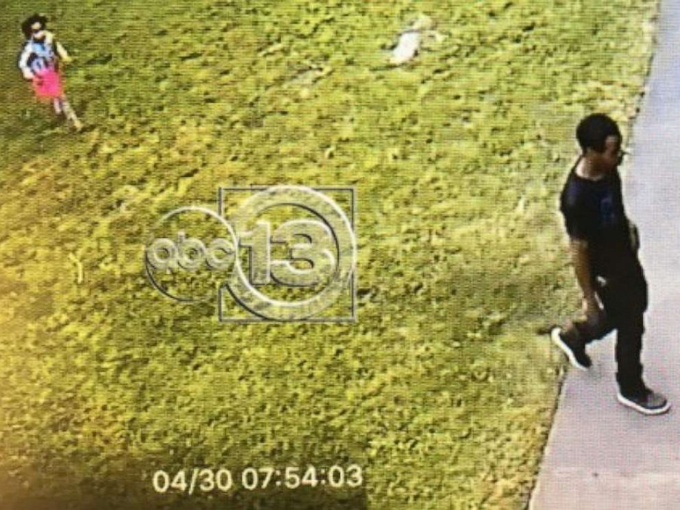 PHOTO: Surveillance images show Maleah Davis and her mothers ex-fiance walking into the familys apartment, but she was never seen coming out.