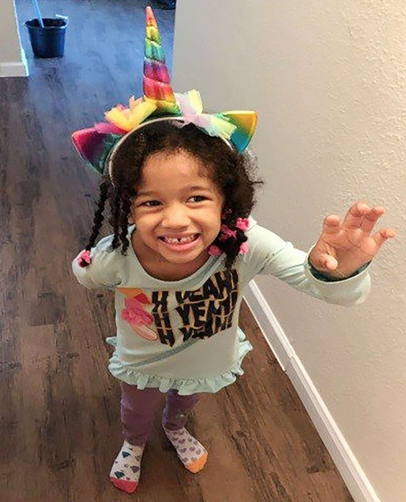 PHOTO: An Amber alert was issued Sunday for 4-year-old Texas girl, Maleah Davis. She was last seen on Saturday night with three men that her mothers ex-fiance claimed abducted her.