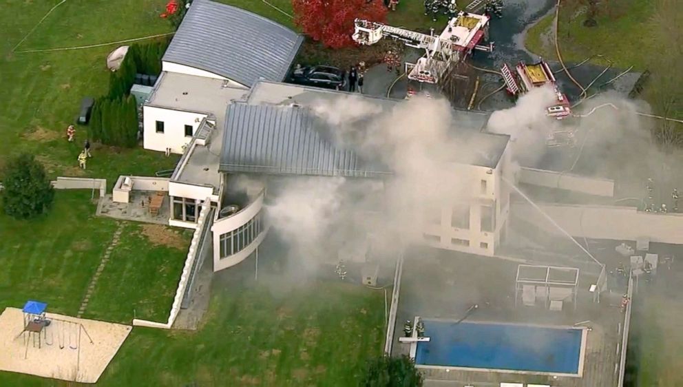 Man accused of setting fire to NJ mansion now faces murder charges