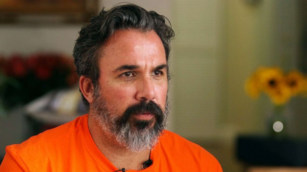 PHOTO: Manuel Oliver is pictured during an interview with ABC News.