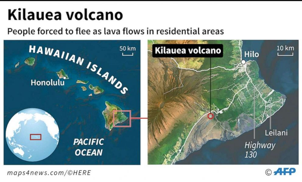 Lava from volcano\'s eruption destroys 2 homes, earthquake rattles ...