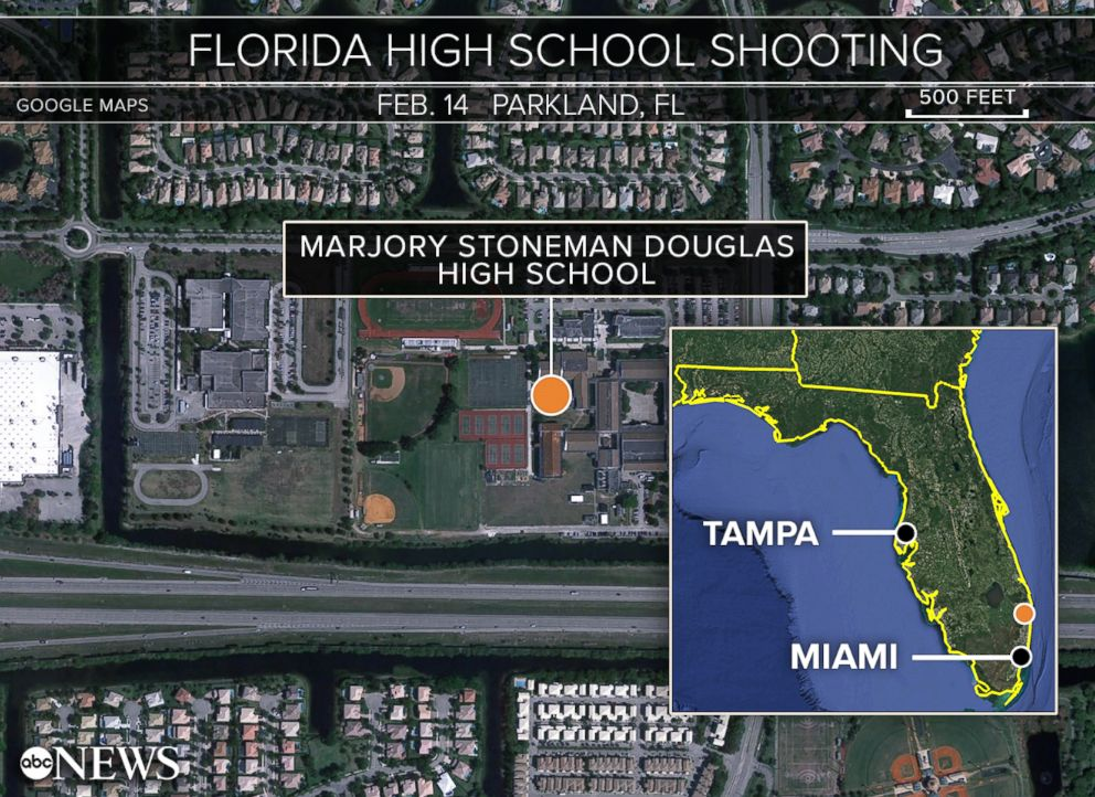 Image result for parkland florida school shooting