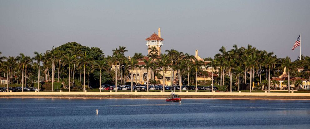 PHOTO: The Mar-a-Lago estate is pictured on March 22, 2019, in West Palm Beach, Fla.