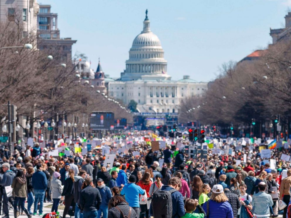 slideshow march for our lives draws huge crowds to washington d c and cities across the