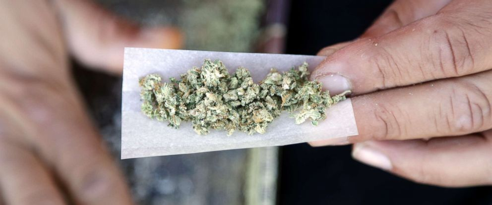 PHOTO: A marijuana joint is rolled in San Francisco.