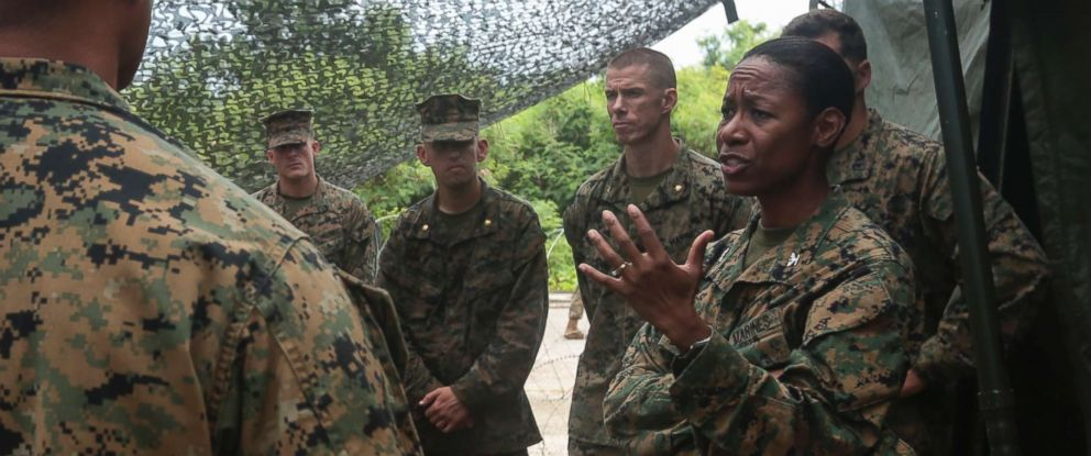 TRUMP NOMINATES 1ST AFRICAN-AMERICAN WOMAN TO BE MARINE BRIGADIER GENERAL