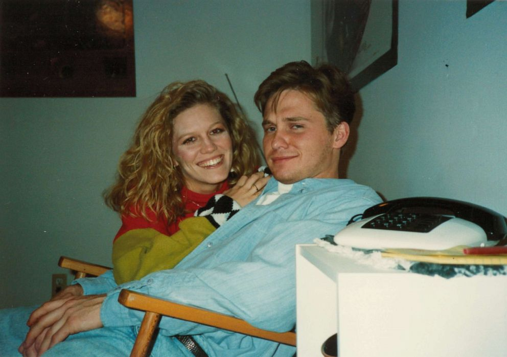 PHOTO: After meeting in college, Mark and Jennair Gerardot got married in October 1993.