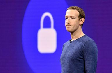 PHOTO: Facebook CEO Mark Zuckerberg attends the annual F8 summit at the San Jose McEnery Convention Center in San Jose, Calif., May 1, 2018.
