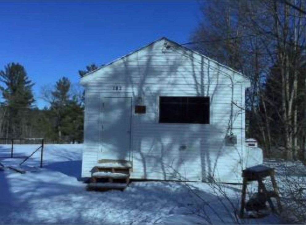 PHOTO: Mars Hotel, a storage shed where many students allegedly had sex at the elite St. Pauls Prep School in New Hampshire.