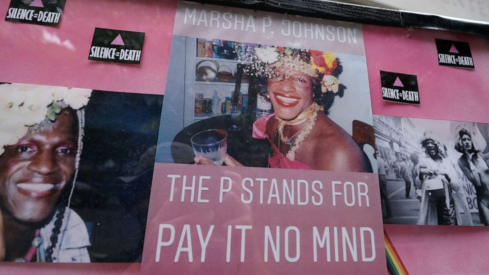 Transgender civil rights icon Marsha P. Johnson honored with public monument in New Jersey hometown