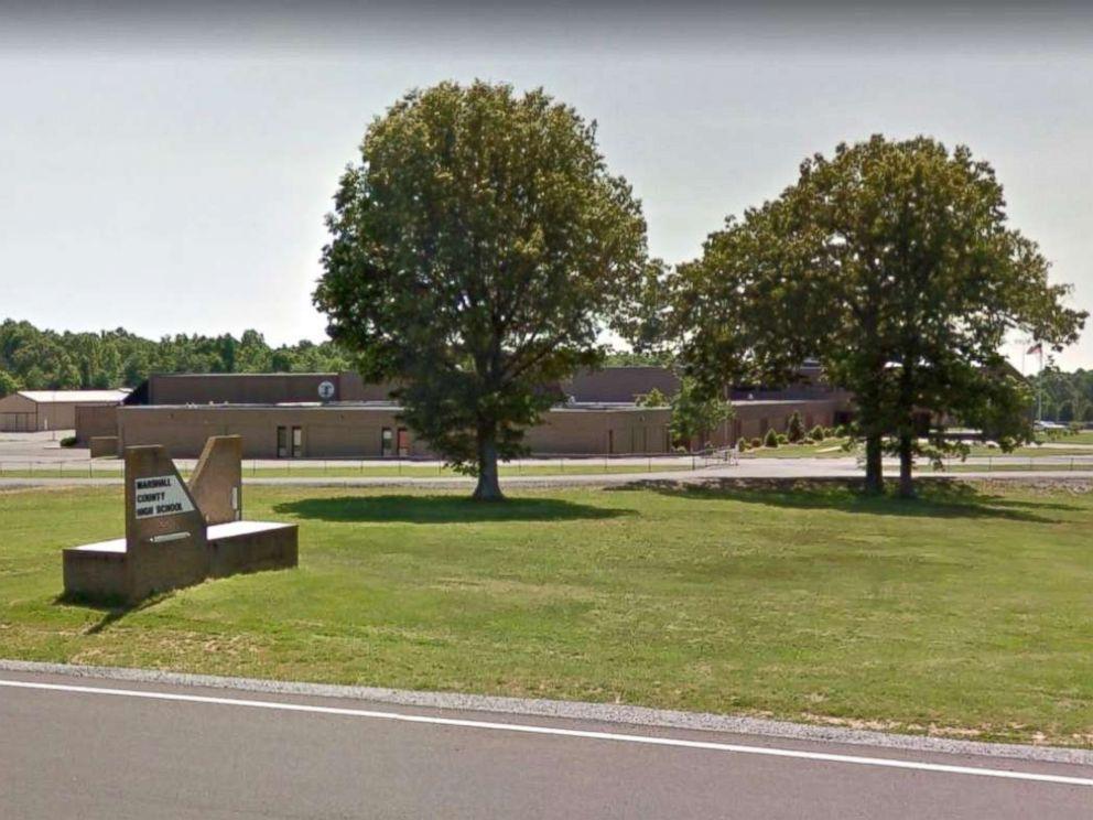 PHOTO: Marshall County High School in Benton, Ky., as seen on Google Maps.